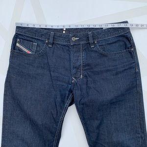 Diesel Jeans - Diesel Larkee Straight Leg Jeans Button Fly 36